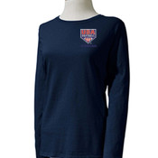 Gildan Heavy Cotton Ladies' 5.3 oz. Missy Fit Long-Sleeve T-Shirt